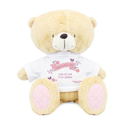 Personalised Forever Friends Bear with T-Shirt